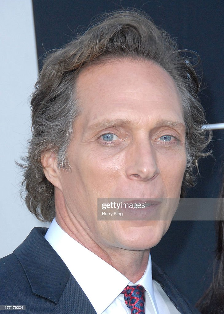 Actor William Fichtner arrives at the Los Angeles Premiere of 'Elysium' on August 7, 2013 at Regency Village Theatre in Westwood, California.