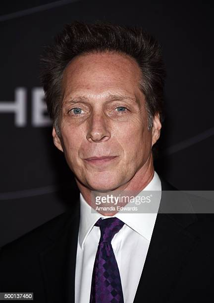 Actor William Fichtner arrives at the Petersen Automotive Museum Grand ReOpening at the Petersen Automotive Museum on December 5 2015 in Los Angeles...