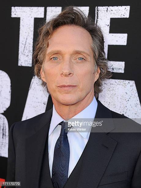 Actor William Fichtner arrives at the premiere of Walt Disney Pictures' 'The Lone Ranger' at Disney California Adventure Park on June 22 2013 in...