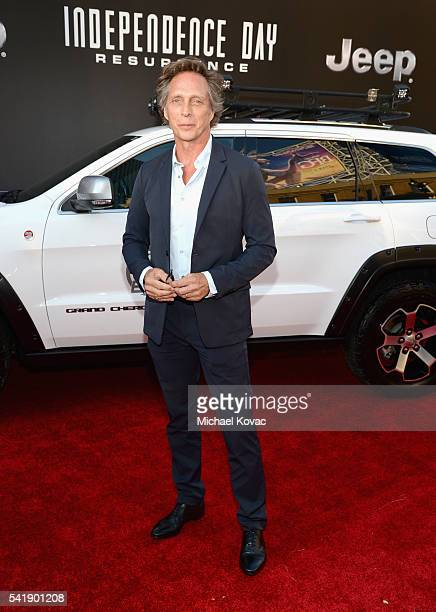 Actor William Fichtner attends the 'Independence Day Resurgence' premiere sponsored by Jeep at TCL Chinese Theatre on June 20 2016 in Hollywood...