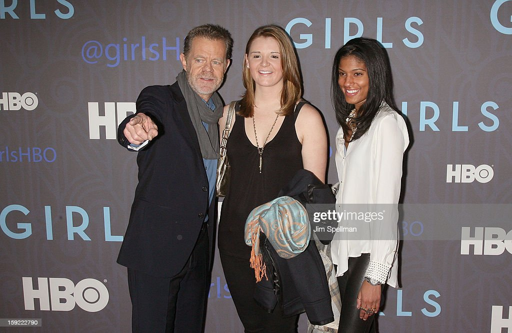 Actor William H. Macy and guests attend Cinema Society Presents The World Premiere Of 'Girls' Season 2at NYU Skirball Center on January 9, 2013 in New York City.