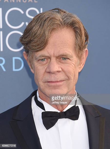 Actor William H Macy arrives at The 22nd Annual Critics' Choice Awards at Barker Hangar on December 11 2016 in Santa Monica California