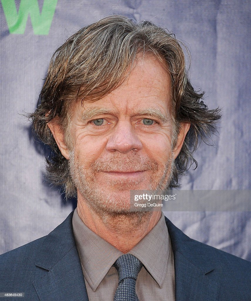 Actor William H Macy arrives at the CBS CW And Showtime 2015 Summer TCA Party at Pacific Design Center on August 10 2015 in West Hollywood California