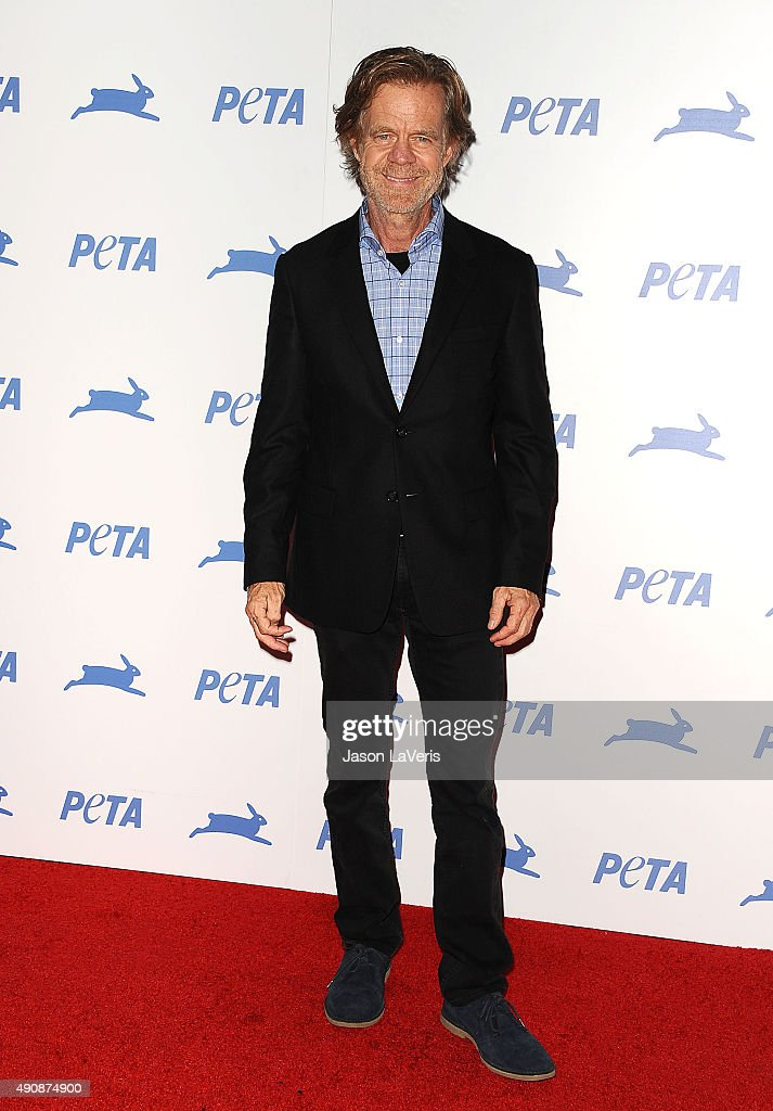 Actor William H Macy attends PETA's 35th anniversary party at Hollywood Palladium on September 30 2015 in Los Angeles California