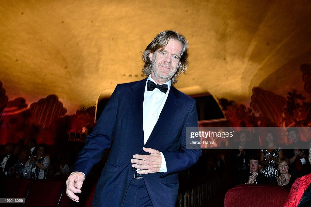 Actor William H Macy attends the 2014 Catalina Film Festival Awards Ceremony at the Avalon Theater on September 27 2014 in Catalina Island California