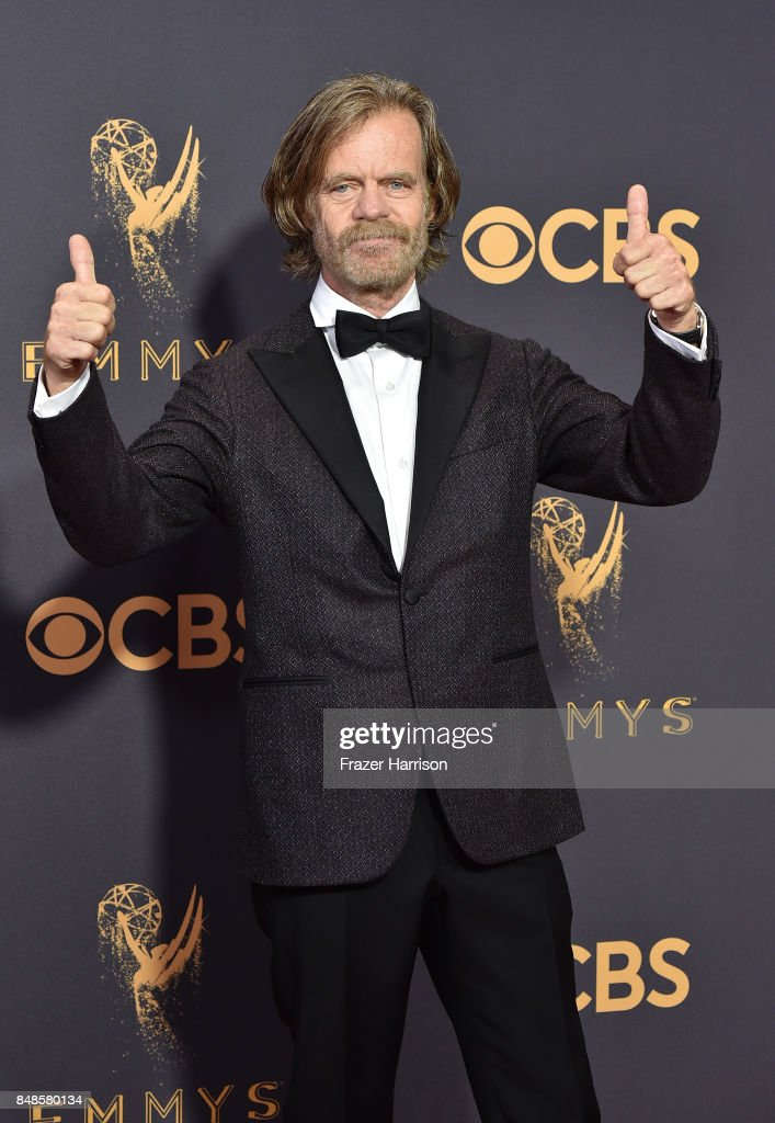 Actor William H. Macy attends the 69th Annual Primetime Emmy Awards at Microsoft Theater on September 17, 2017 in Los Angeles, California.