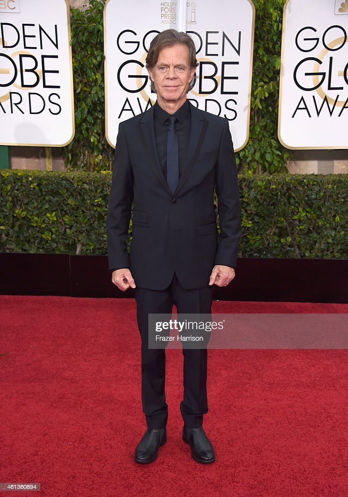 Actor William H Macy attends the 72nd Annual Golden Globe Awards at The Beverly Hilton Hotel on January 11 2015 in Beverly Hills California
