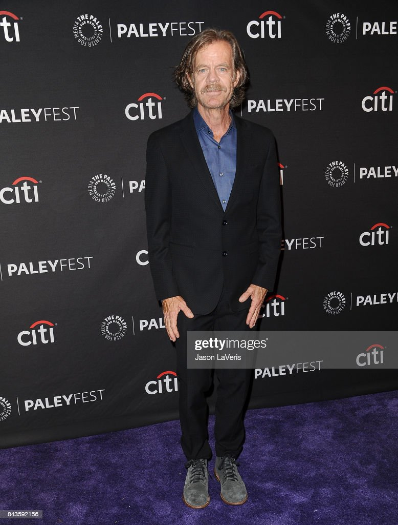 Actor William H. Macy attends the Showtime event at the 11th annual PaleyFest fall TV preview at The Paley Center for Media on September 6, 2017 in Beverly Hills, California.