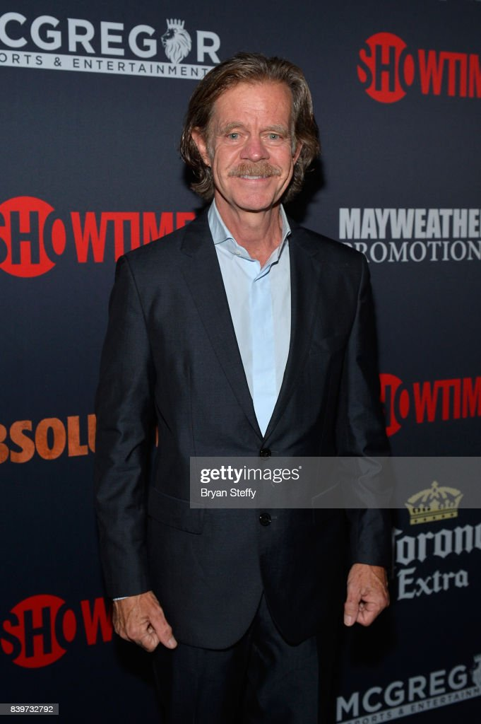 Actor William H. Macy attends the Showtime, WME IME and Mayweather Promotions VIP Pre-Fight party for Mayweather vs. McGregor at T-Mobile Arena on August 26, 2017 in Las Vegas, Nevada.