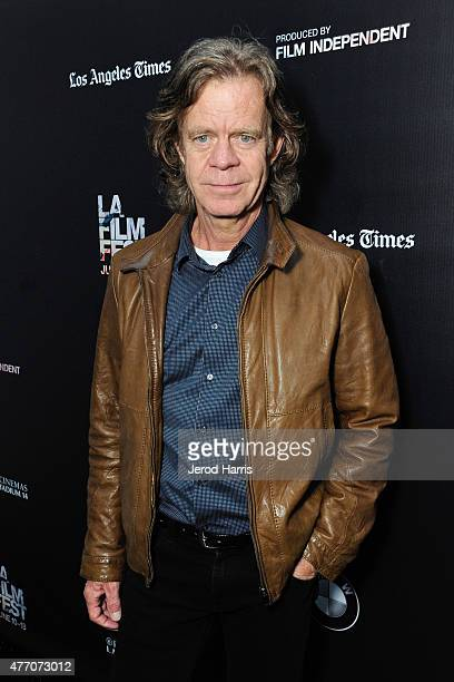 Actor William H Macy attends the 'Stealing Cars' and 'Internet Famous' screenings during the 2015 Los Angeles Film Festival at Regal Cinemas LA Live...