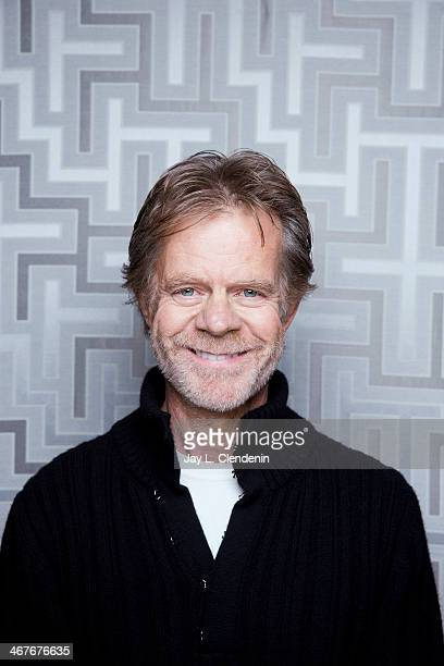 Actor William H Macy is photographed for Los Angeles Times on January 18 2014 in Park City Utah PUBLISHED IMAGE CREDIT MUST READ Jay L Clendenin/Los...