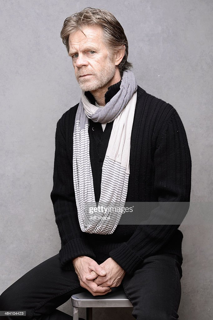 Actor William H Macy poses for a portrait during the 2014 Sundance Film Festival at the Getty Images Portrait Studio at the Village At The Lift...