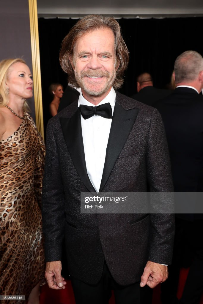 Actor William H. Macy walks the red carpet during the 69th Annual Primetime Emmy Awards at Microsoft Theater on September 17, 2017 in Los Angeles, California.