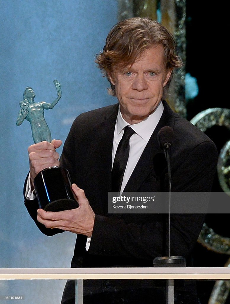 Actor William H Macy winner of best Male Actor in a Comedy Series onstage at the 21st Annual Screen Actors Guild Awards at The Shrine Auditorium on...