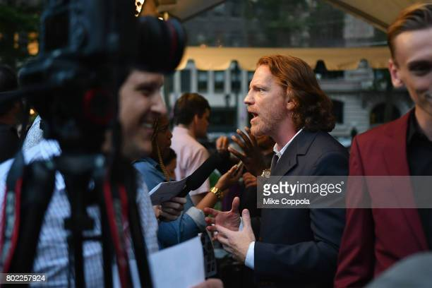 Actor William Houston is interviewed during TNT's Season One 'Will' Premiere at Bryant Park on June 27 2017 in New York City 26058_015
