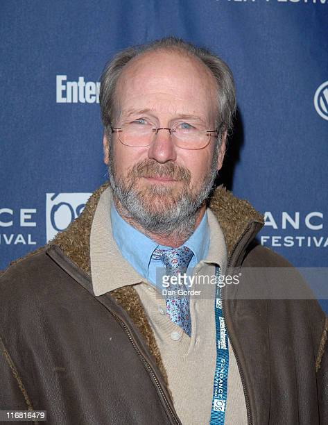 Actor William Hurt attends the premiere of 'The Yellow Handkerchief' during the 2008 Sundance Film Festival at the Eccles Theatre on January 18 2008...