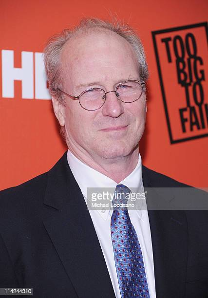Actor William Hurt attends the 'Too Big To Fail' New York Premiere at The Museum of Modern Art on May 16 2011 in New York City