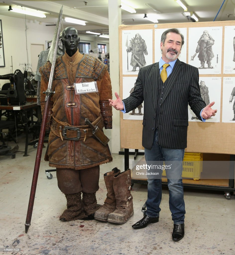 Actor William Kircher who plays 'Bifur' in the new Hobbit film poses for a photo before meeting Prince Charles, Prince of Wales at Weta Workshop on November 14, 2012 in Wellington, New Zealand. The Royal couple are in New Zealand on the last leg of a Diamond Jubilee that takes in Papua New Guinea, Australia and New Zealand.