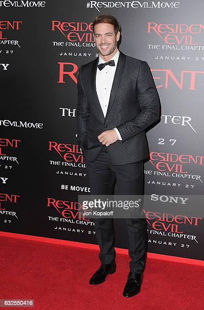 Actor William Levy arrives at the Los Angeles premiere 'Resident Evil The Final Chapter' at Regal LA Live A Barco Innovation Center on January 23...
