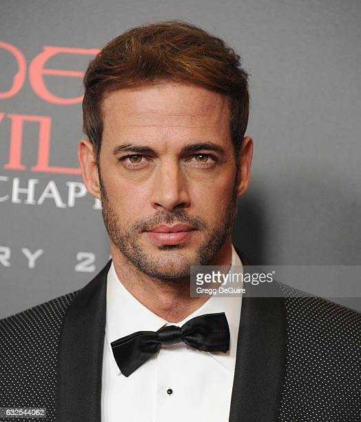 Actor William Levy arrives at the premiere of Sony Pictures Releasing's 'Resident Evil The Final Chapter' at Regal LA Live A Barco Innovation Center...