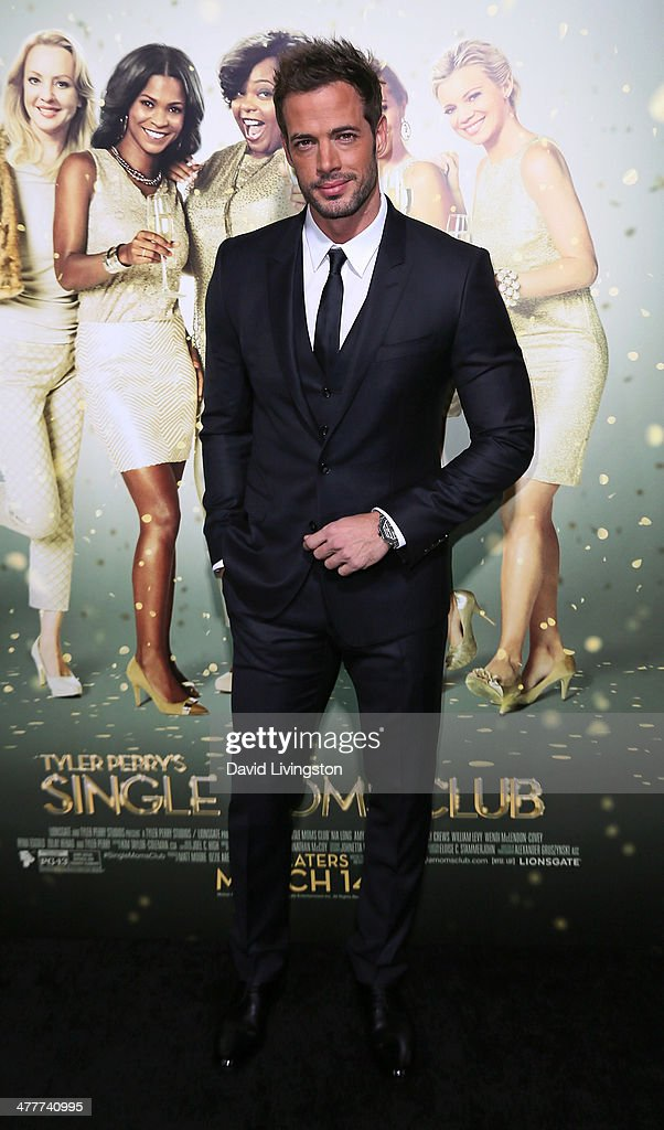 Actor <a gi-track='captionPersonalityLinkClicked' href=/galleries/search?phrase=William+Levy&family=editorial&specificpeople=4194502 ng-click='$event.stopPropagation()'>William Levy</a> attends the premiere of Tyler Perry's 'The Single Moms Club' at the ArcLight Cinemas Cinerama Dome on March 10, 2014 in Hollywood, California.