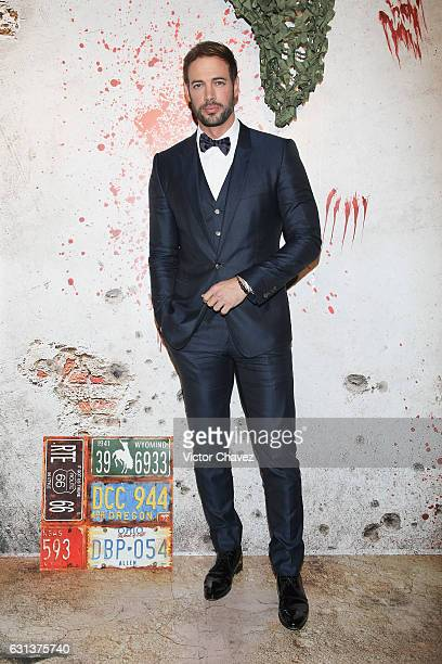 Actor William Levy attends the 'Resident Evil The Final Chapter' Mexico City premiere at Cinemex Antara Polanco on January 9 2017 in Mexico City...