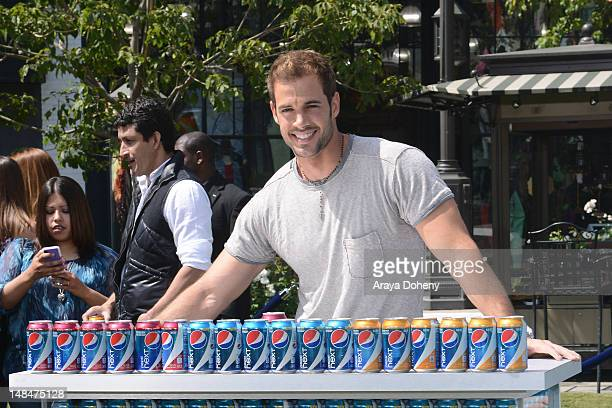Actor William Levy launches new Pepsi NEXT Cherry Vanilla and Pepsi NEXT Paradise Mango flavors at The Americana at Brand on July 17 2012 in Glendale...