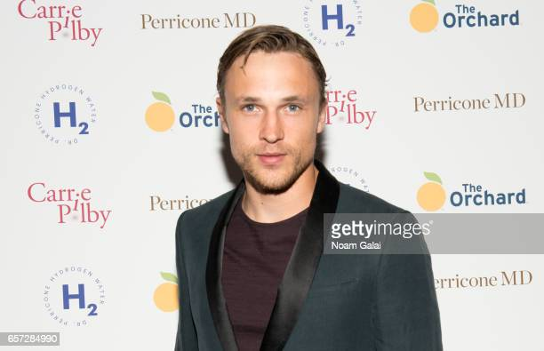 Actor William Moseley attends the 'Carrie Pilby' New York screening at Landmark Sunshine Cinema on March 23 2017 in New York City