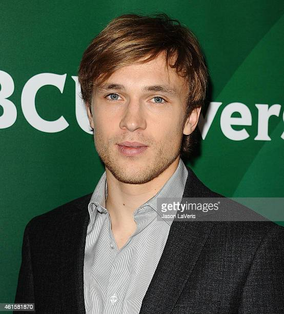 Actor William Moseley attends the NBCUniversal 2015 press tour at The Langham Huntington Hotel and Spa on January 15 2015 in Pasadena California