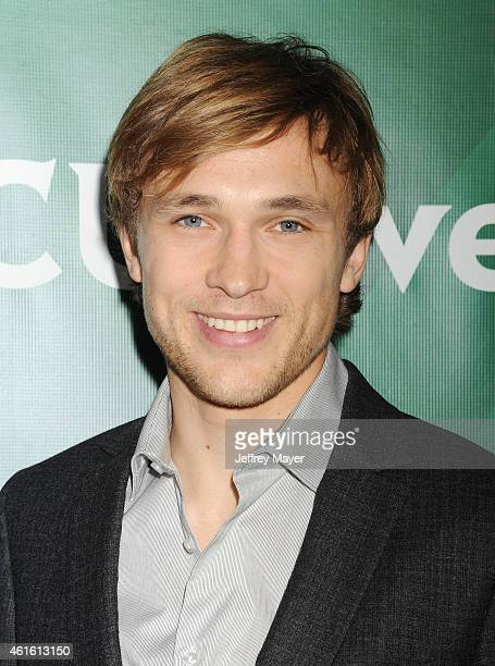 Actor William Moseley attends the NBCUniversal 2015 Press Tour at the Langham Huntington Hotel on January 15 2015 in Pasadena California