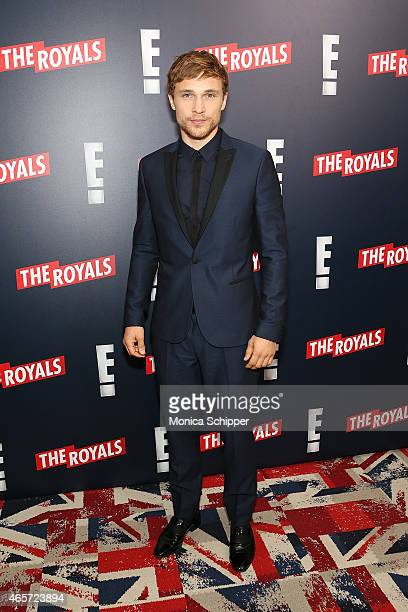 Actor William Moseley attends 'The Royals' New York Series Premiere at The Standard Highline on March 9 2015 in New York City