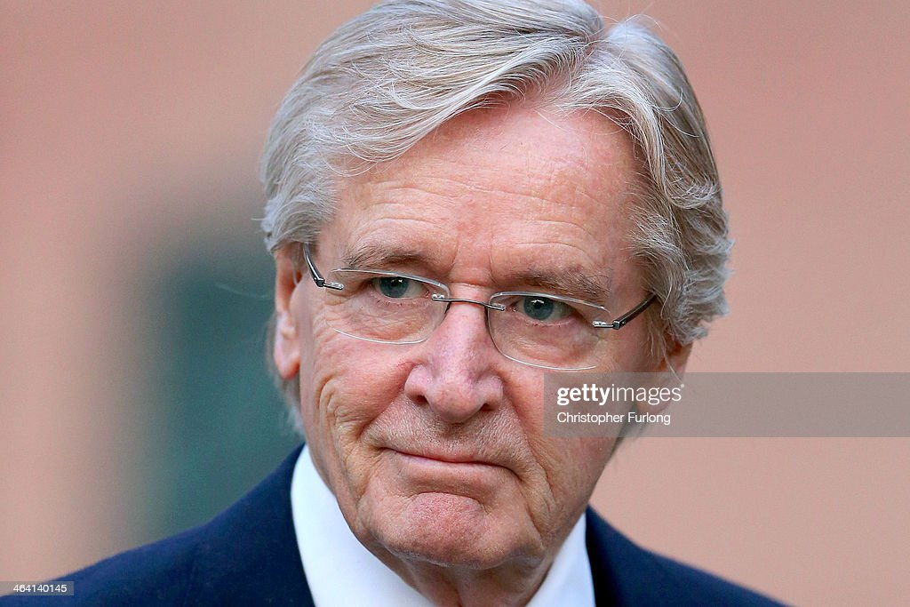Actor William Roache arrives at Preston Crown Court for the sixth day of his trial over historical sexual offence allegations on January 21, 2014 in Preston, Lancashire. The Coronation Street star, who plays the character Ken Barlow on the ITV soap, is charged with two counts of rape involving a 15-year-old girl. The offences allegedly took place between April and July 1967. Roache is also charged with five counts of indecent assault against four girls between the ages of 11 or 12 and 16. Three of the offences allegedly took place in 1965 and two in 1968.