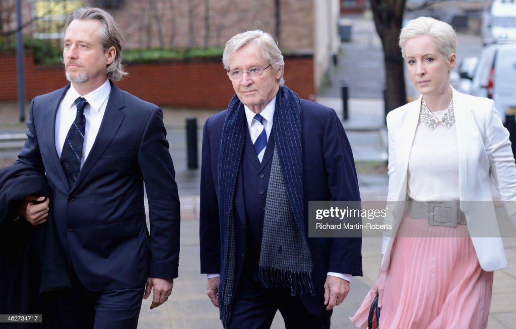 William Roache Attends Preston Crown Court