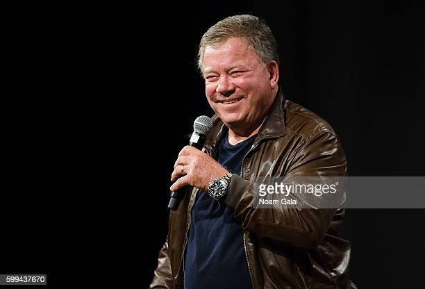 Actor William Shatner attends 'Star Trek Mission New York' at The Jacob K Javits Convention Center on September 4 2016 in New York City
