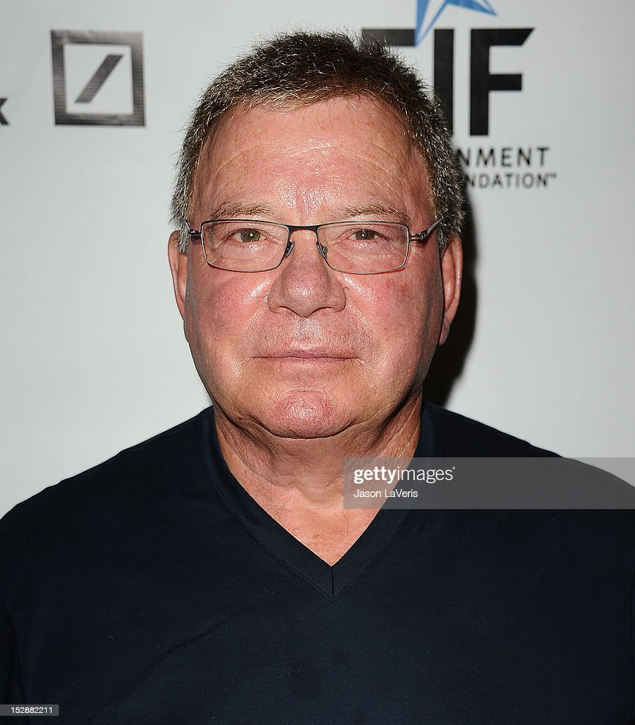 Actor <a gi-track='captionPersonalityLinkClicked' href=/galleries/search?phrase=William+Shatner&family=editorial&specificpeople=202461 ng-click='$event.stopPropagation()'>William Shatner</a> attends the Shakespeare Center of Los Angeles' 22nd annual 'Simply Shakespeare' event at Freud Playhouse, UCLA on September 27, 2012 in Westwood, California.