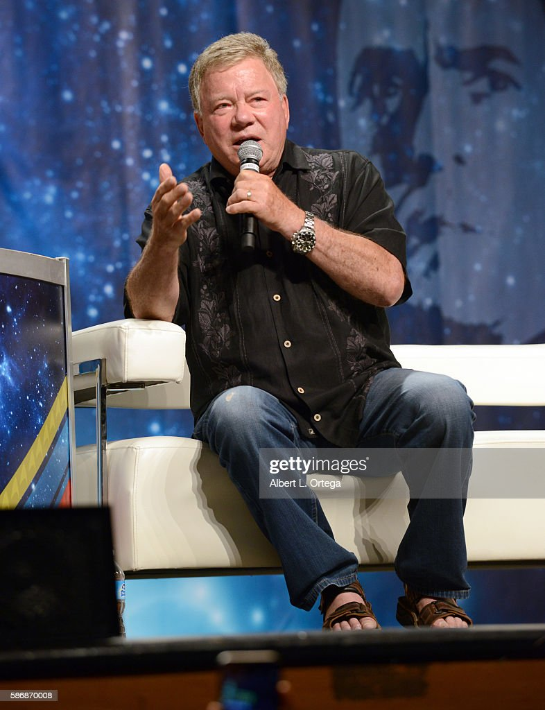 Actor William Shatner on day 4 of Creation Entertainment's Official Star Trek 50th Anniversary Convention at the Rio Hotel & Casino on August 6, 2016 in Las Vegas, Nevada.