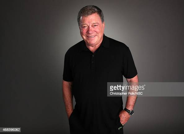 Actor William Shatner poses for a portrait during the NBCUniversal Summer Press Day at The Langham Huntington Pasadena on April 2 2015 in Pasadena...