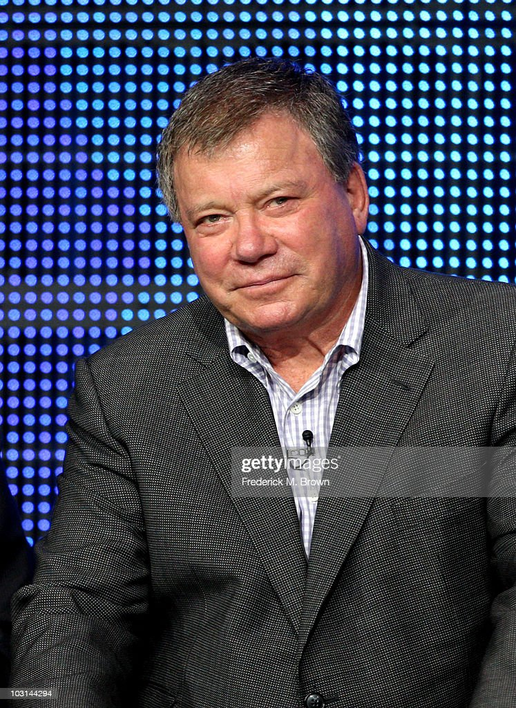 Actor <a gi-track='captionPersonalityLinkClicked' href=/galleries/search?phrase=William+Shatner&family=editorial&specificpeople=202461 ng-click='$event.stopPropagation()'>William Shatner</a> speaks at '$#*! My Dad Says' panel during 2010 Summer TCA Tour Day 1 at the Beverly Hilton Hotel on July 28, 2010 in Beverly Hills, California.