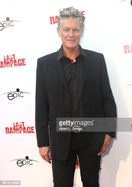 Actor William Shockley arrives for the Premiere Of Epic Pictures Releasings' 'Last Rampage' held at ArcLight Cinemas on September 21 2017 in...