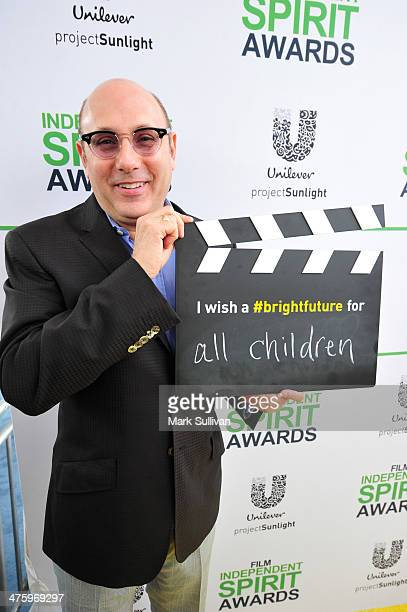 Actor Willie Garson calls ACTION to create a brighter future for all children on the Yellow Carpet presented by Unilever Project Sunlight during the...