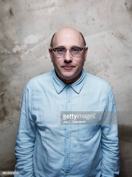 Actor Willie Garson from the film The Polka King is photographed at the 2017 Sundance Film Festival for Los Angeles Times on January 22 2017 in Park...