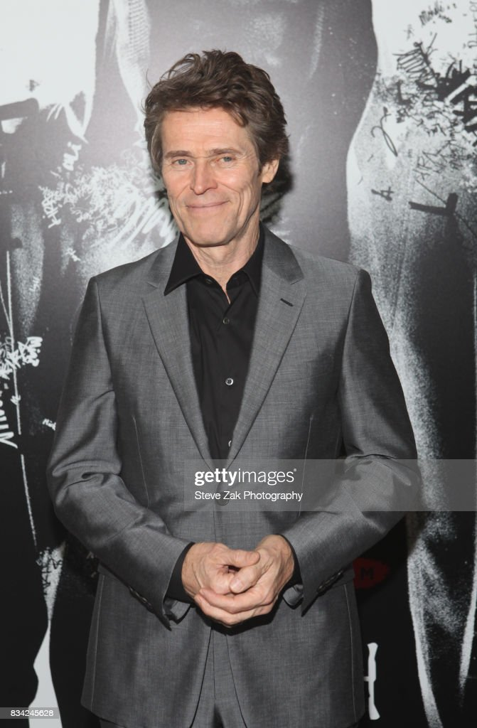 Actor Williem Dafoe attends 'Death Note' New York premiere at AMC Loews Lincoln Square 13 theater on August 17, 2017 in New York City.