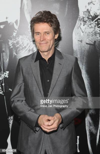 Actor Williem Dafoe attends 'Death Note' New York premiere at AMC Loews Lincoln Square 13 theater on August 17 2017 in New York City