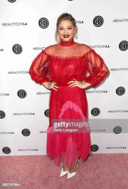Actor Willow Shields attends Day 1 of the 5th Annual Beautycon Festival Los Angeles at the Los Angeles Convention Center on August 12 2017 in Los...