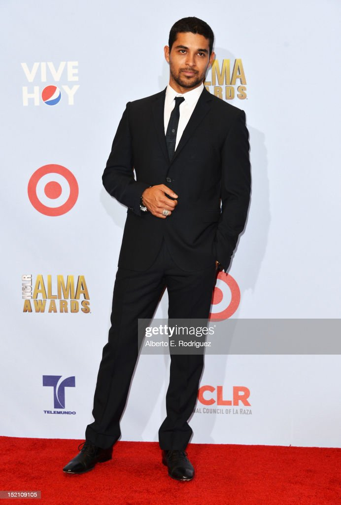 Actor Wilmer Valderama poses in the press room during the 2012 NCLR ALMA Awards at Pasadena Civic Auditorium on September 16, 2012 in Pasadena, California.