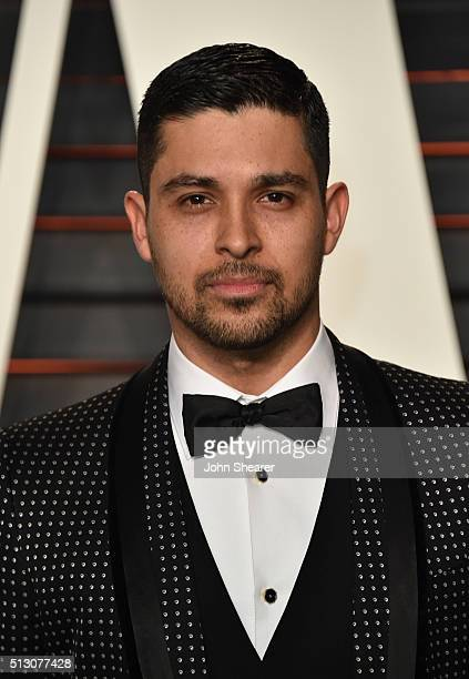 Actor Wilmer Valderrama arrives at the 2016 Vanity Fair Oscar Party Hosted By Graydon Carter at Wallis Annenberg Center for the Performing Arts on...