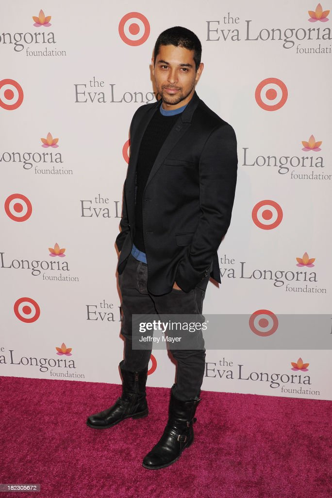 Actor <a gi-track='captionPersonalityLinkClicked' href=/galleries/search?phrase=Wilmer+Valderrama&family=editorial&specificpeople=202028 ng-click='$event.stopPropagation()'>Wilmer Valderrama</a> arrives at the Eva Longoria Foundation Dinner at Beso restaurant on September 28, 2013 in Hollywood, California.