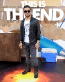 Actor Wilmer Valderrama arrives at the Los Angeles premiere of 'This Is The End' at Regency Village Theatre on June 3 2013 in Westwood California