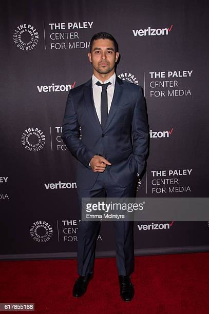 Actor Wilmer Valderrama arrives at The Paley Center for Media's Hollywood Tribute to Hispanic Achievements in Television event at the Beverly...