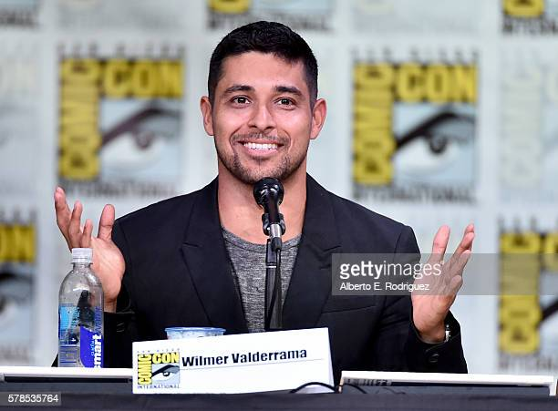 Actor Wilmer Valderrama attends CBS Television Studios Block Including 'Scorpion' 'American Gothic' And 'MacGyver' during ComicCon International 2016...